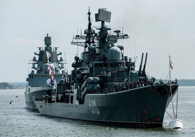Destróier russo (imagem ilustrativa)