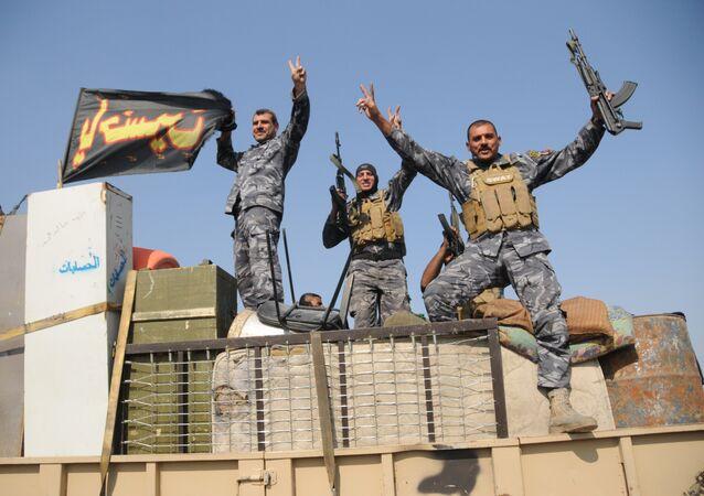 Militares do Exército do Iraque nos arredores de Mossul (arquivo)