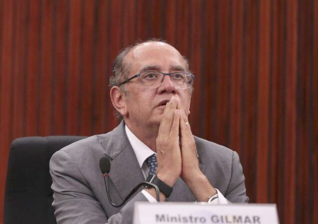 Presidente do TSE, ministro Gilmar Mendes, do Supremo Tribunal Federal (STF)