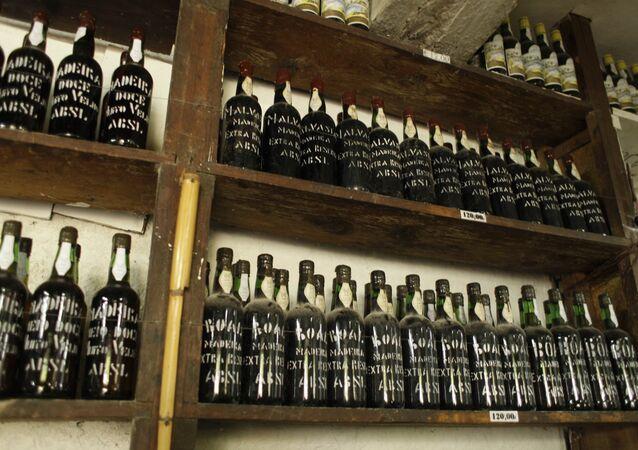 Vinhos da ilha portuguesa da Madeira