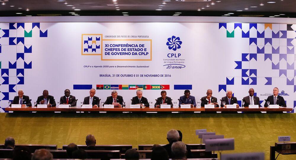 Brasil abre conferência de países de língua portuguesa