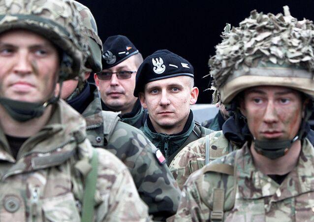 Militares britânicos (imagem referencial)