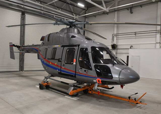 Presentação de helicóptero Ansat