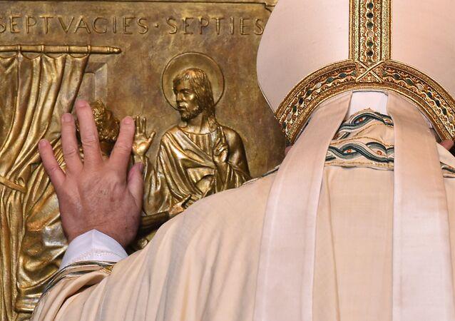 Papa Francisco realizará grande missa na presença dos visitantes na Basílica de São Pedro