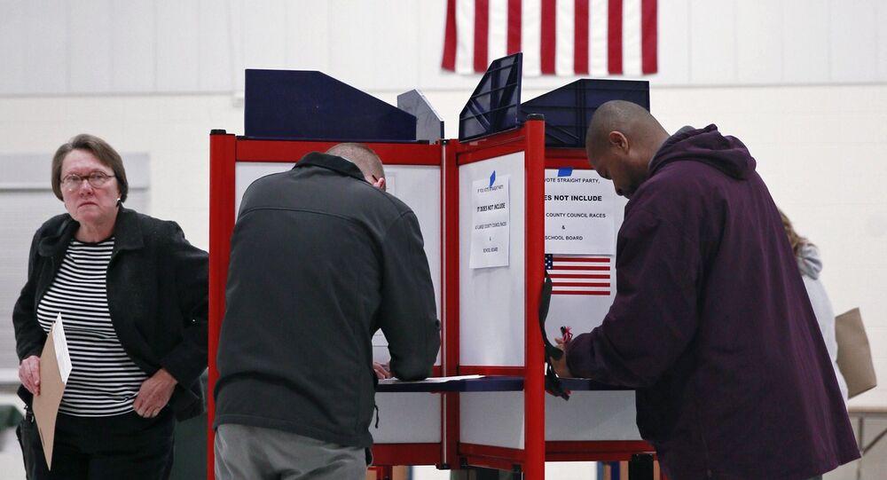 Eleições presidencias dos EUA.