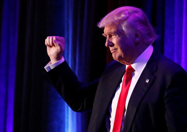 Donald Trump, novo presidente dos EUA, 9 de novembro de 2016