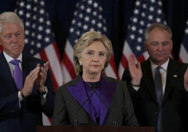 Hillary Clinton faz primeiro discurso após derrota nas eleições dos EUA