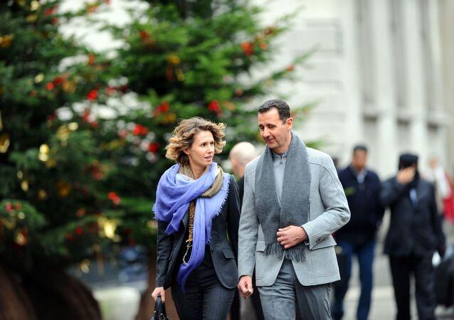 Asma Assad, esposa do presidente sírio