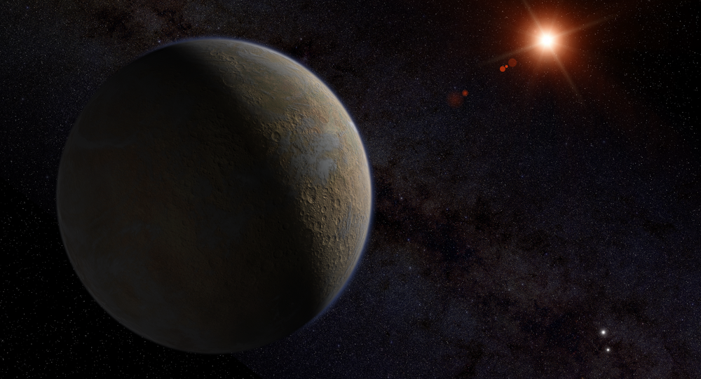 Proxima Centauri B, planeta recém-descoberto  de tamanho igual ao da Terra