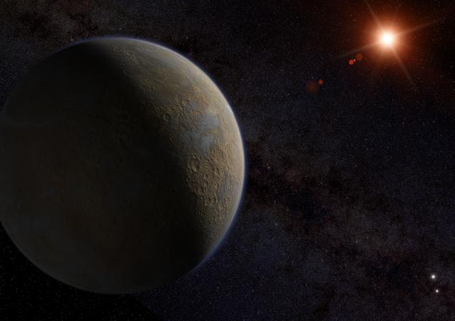 Exoplaneta Proxima b (imagem ilustrativa)
