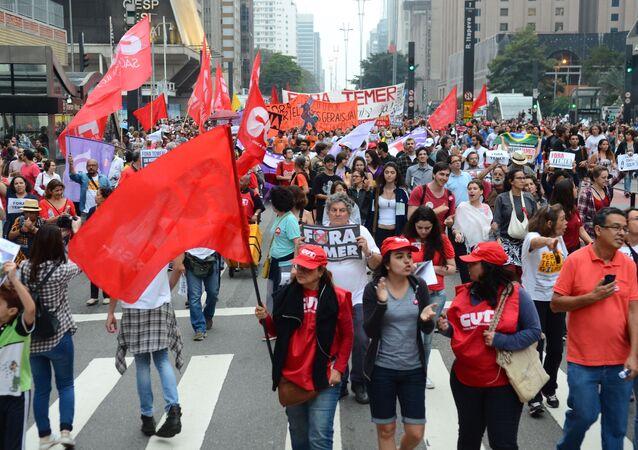 Manifestações novembro