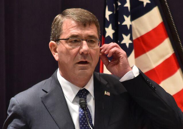 Ashton Carter, secretário de Defesa dos EUA.