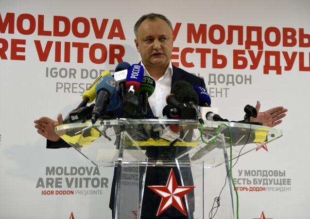 Igor Dodon, presidente eleito da Moldávia