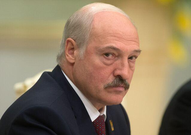 Lukashenko, o presidente da Bielorrússia