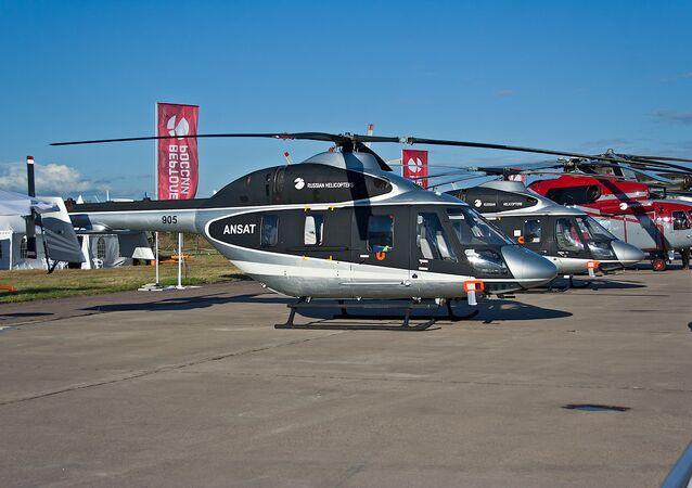 Helicóptero multifuncional russo Ansat