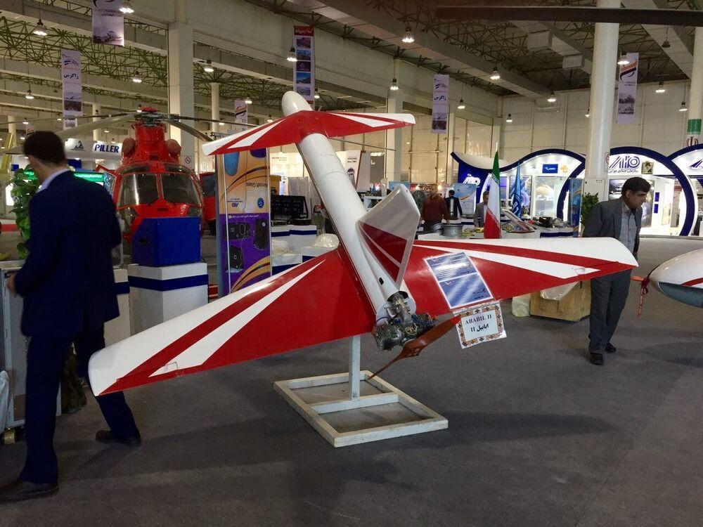 Ababil-2 é um drone iraniano multifuncional com excelente capacidade de manobra para detectar alvos