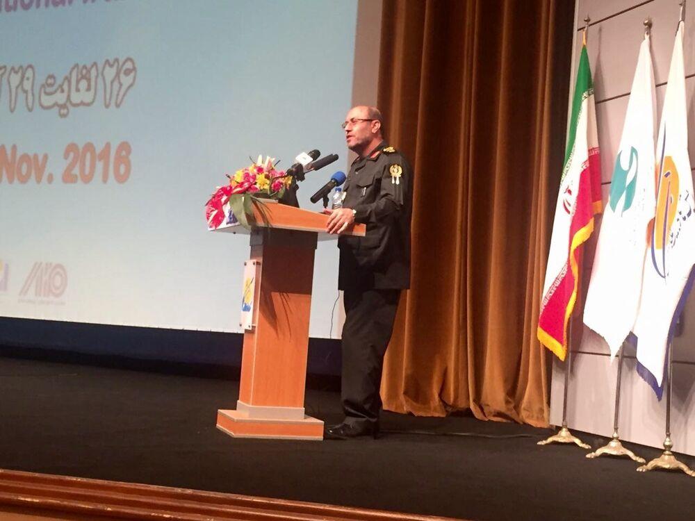 Discurso do ministro da Defesa do Irã, Hosein Deghan, na cerimônia da abertura