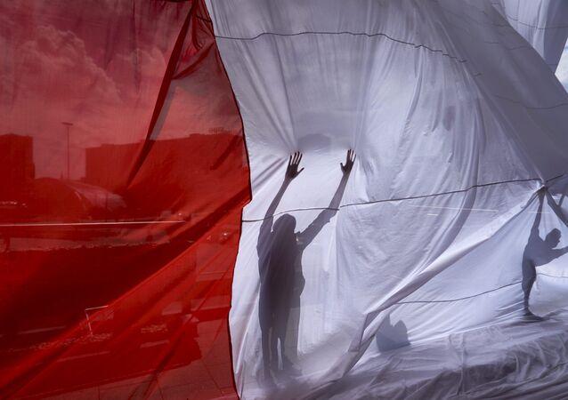 Bandeira de Polônia