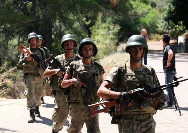 Soldados turcos (imagem referencial).