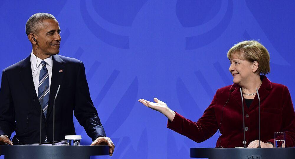 Barack Obama e Angela Merkel se reúnem em 17 de novembro, em Berlim