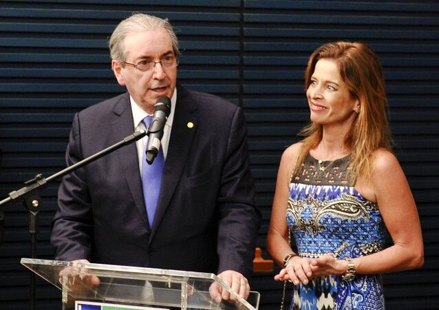 Eduardo Cunha e Claudia Cruz