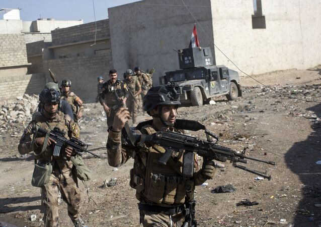 Militares das Forças Especiais do Iraque