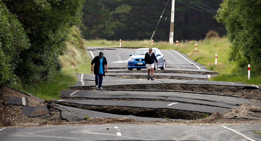 Terremoto na Nova Zelândia, 14 de novembro de 2016