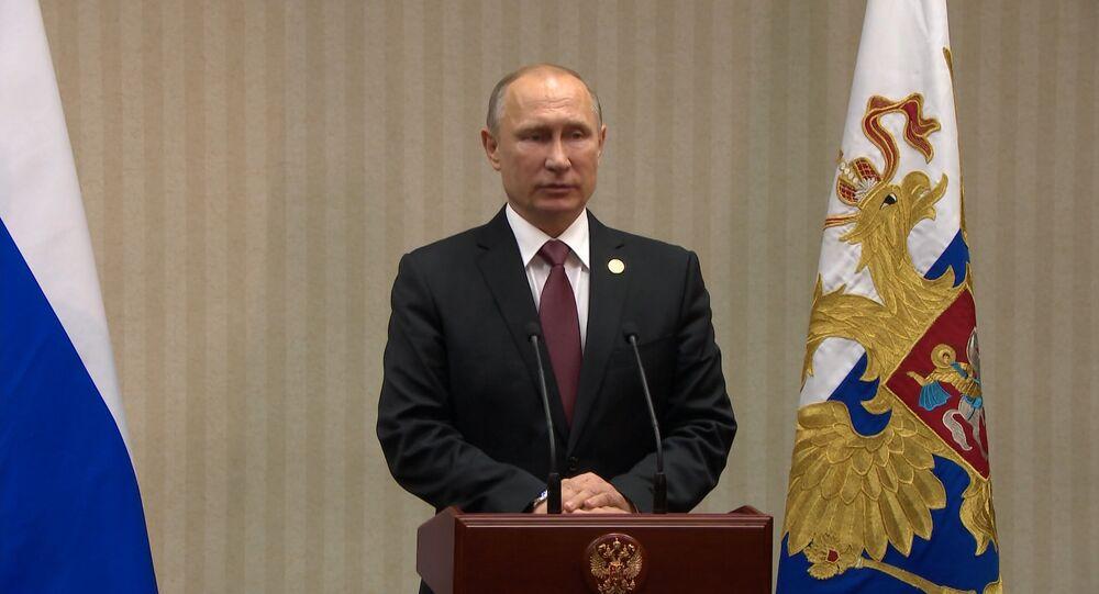 Putin fala sobre Brexit e consequências da eleição de Trump