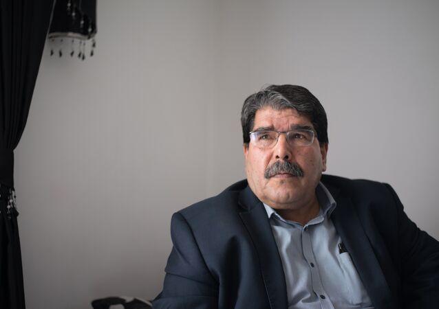 Salih Muslim,um dos lideres do Partido da União Democrática Curda (PYD). Foto de arquivo, 1 de dezembro de 2013