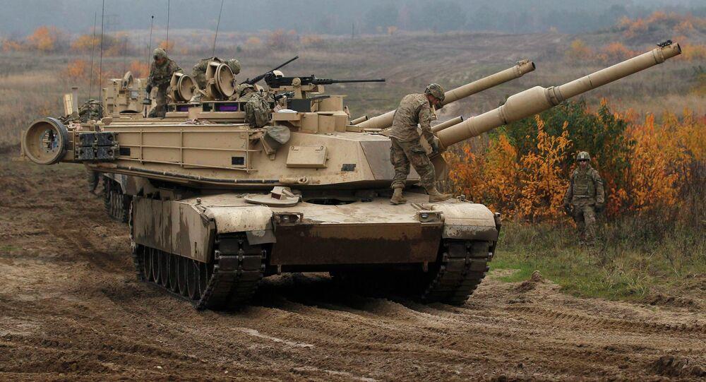 Tanque da batalha principal M-1 Abrams