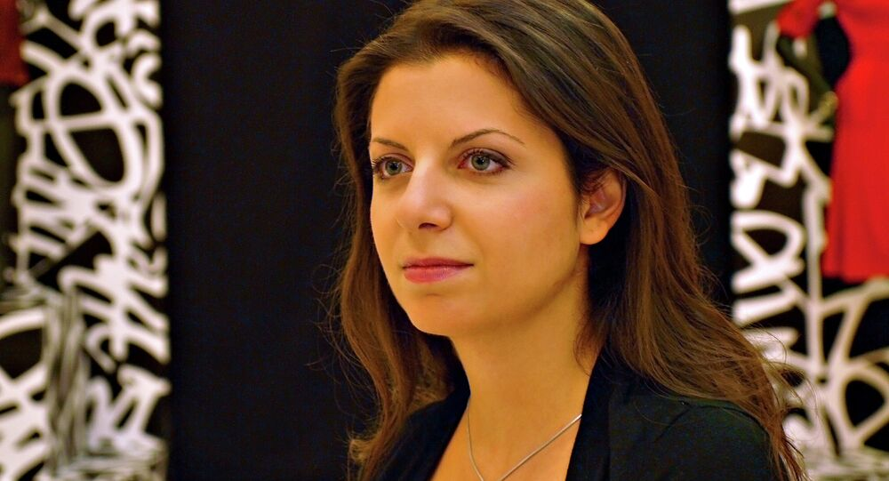 Margarita Simonyan, editora-chefe do RT