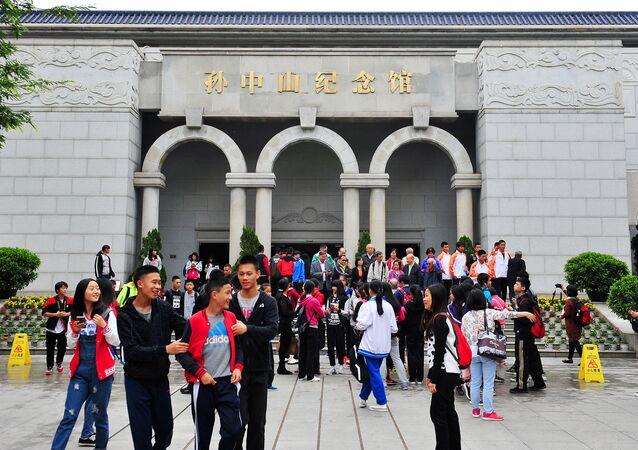 Estudantes chineses