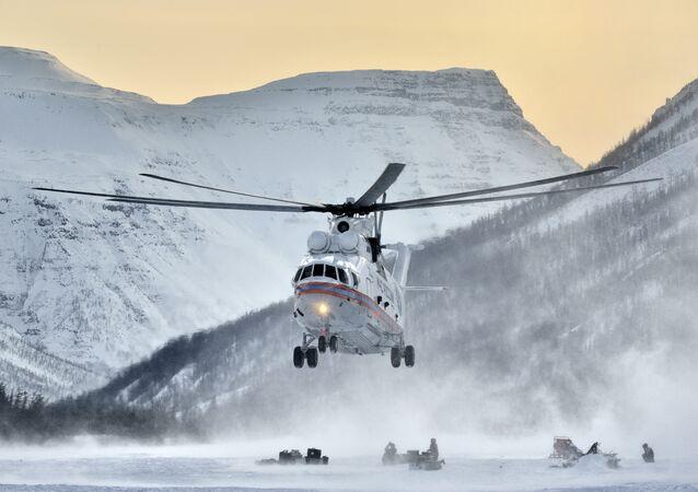 Helicóptero russo Mil Mi-26