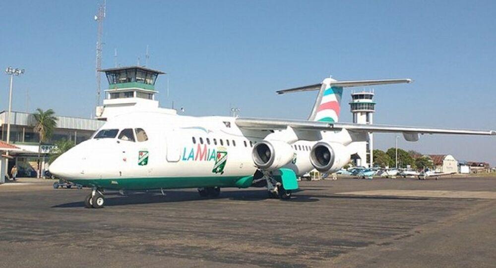 Avião da Lamia