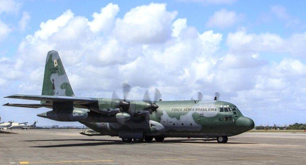 Avião da FAB utilizado em missão internacional da Força Nacional do SUS (arquivo)