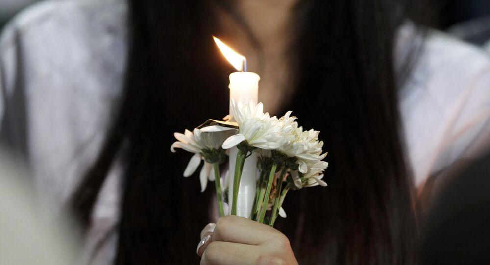 Homenaje a víctimas de accidente aéreo