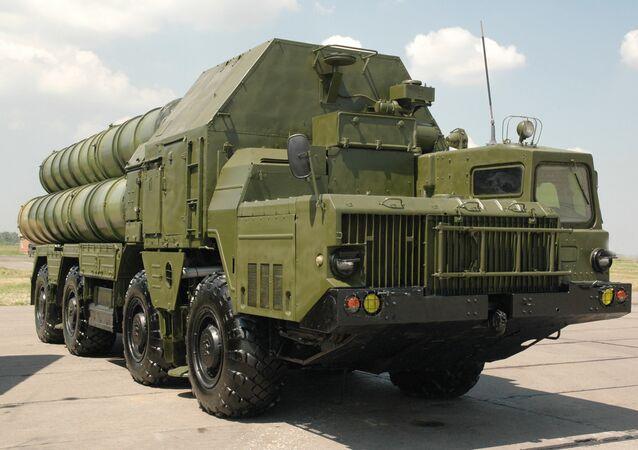 O sistema de mísseis S-300 (foto de arquivo)