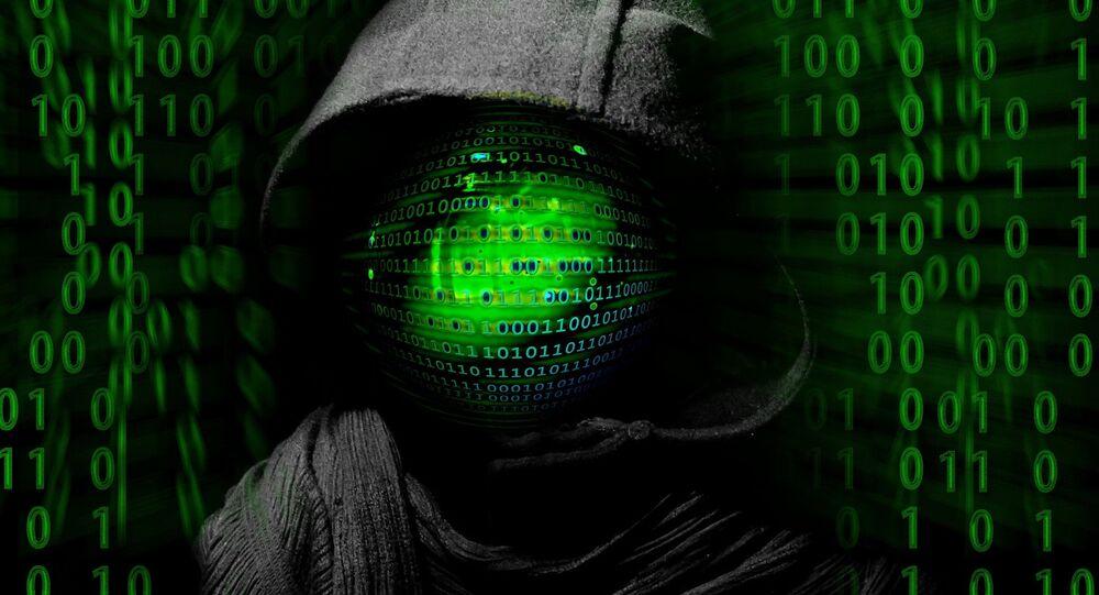 Crime cibernético de hackers