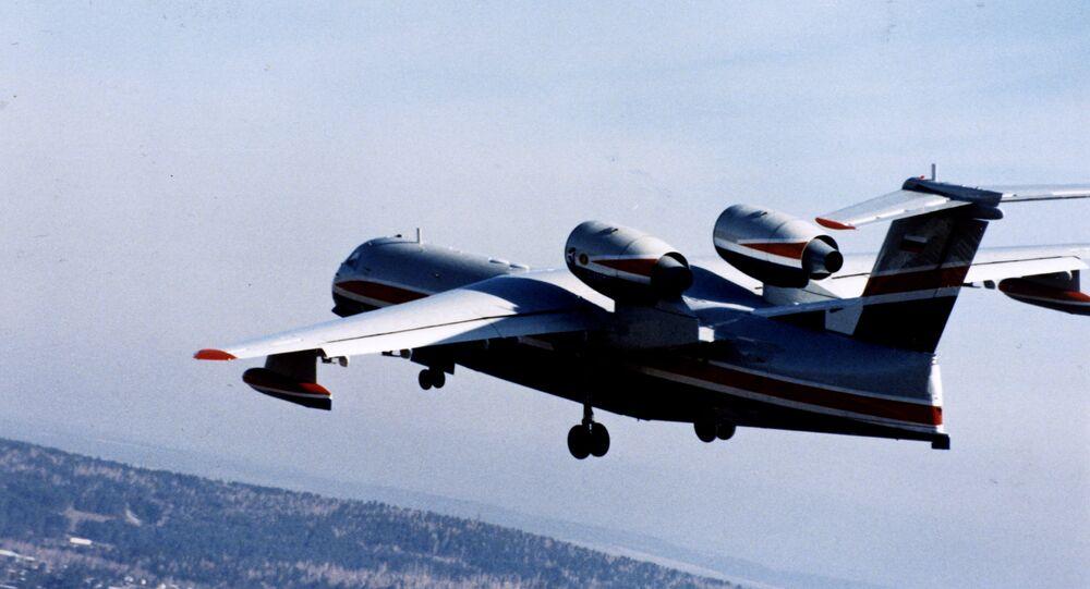 Avião anfíbio russo Beriev Be-200