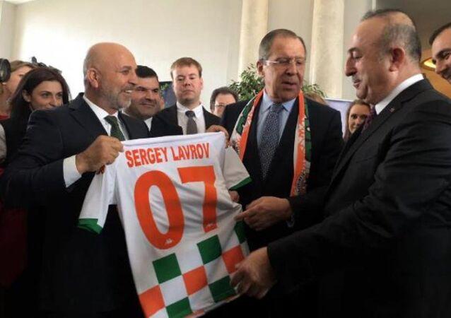 Sergey Lavrov - Alanya ziyareti
