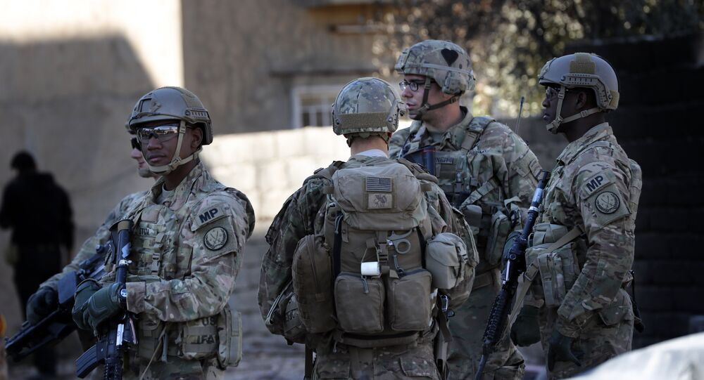 Militares dos EUA em Mossul, Iraque (foto de arquivo)