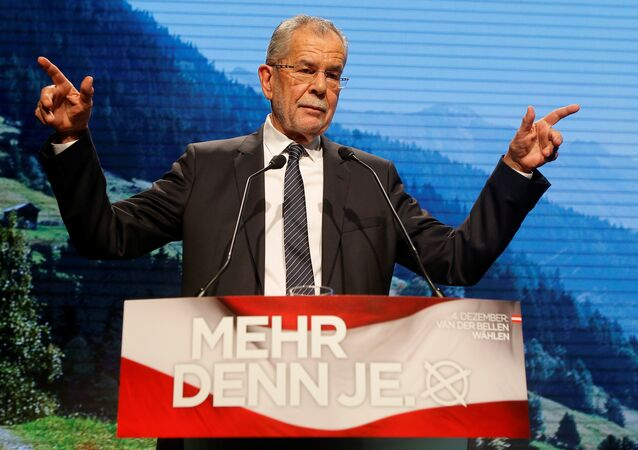 Alexander Van der Bellen, presidente da Áustria