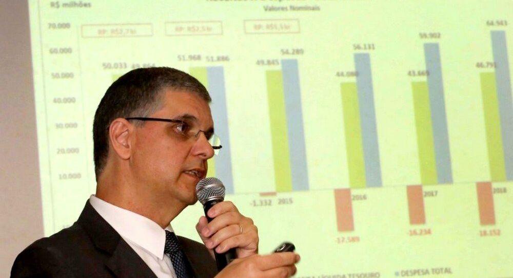 Secretário estadual de Fazenda, Gustavo Barbosa