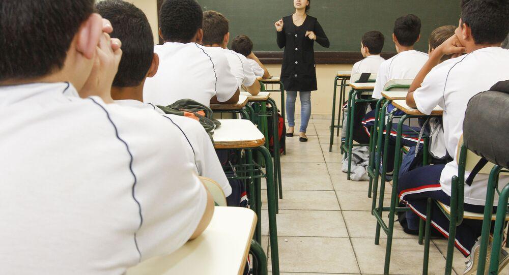 Professores desestímulo