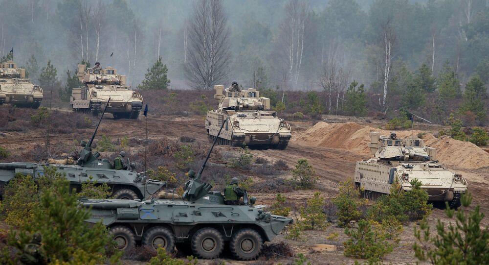 Exercícios da OTAN na Lituânia (arquivo)