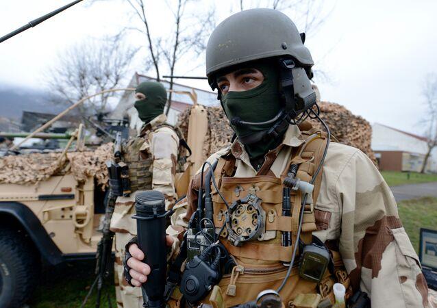 Soldados franceses das forças especiais (imagem de arquivo)