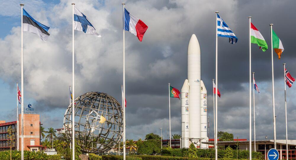 Centro espacial Arianespace em Kourou (Guiana Francesa), visto em 15 de novembro de 2016