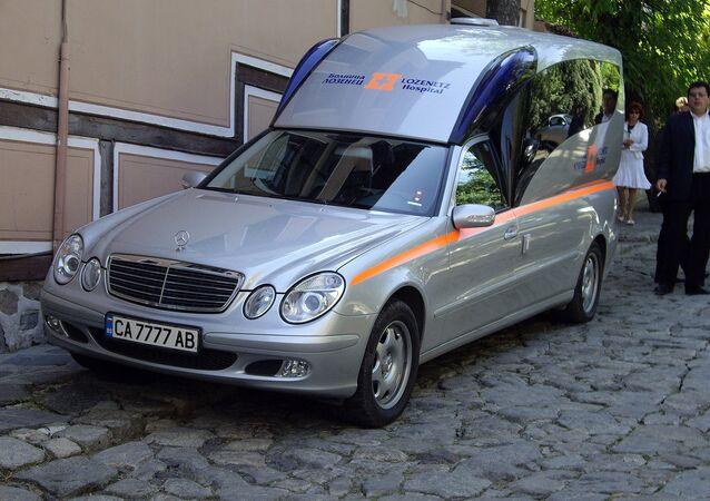 Ambulância na Bulgária (arquivo)