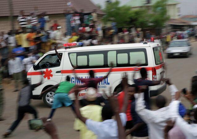 Ambulância na Nigéria