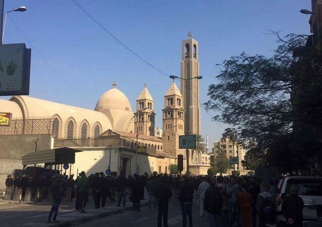 Catedral copta de Cairo, Egito
